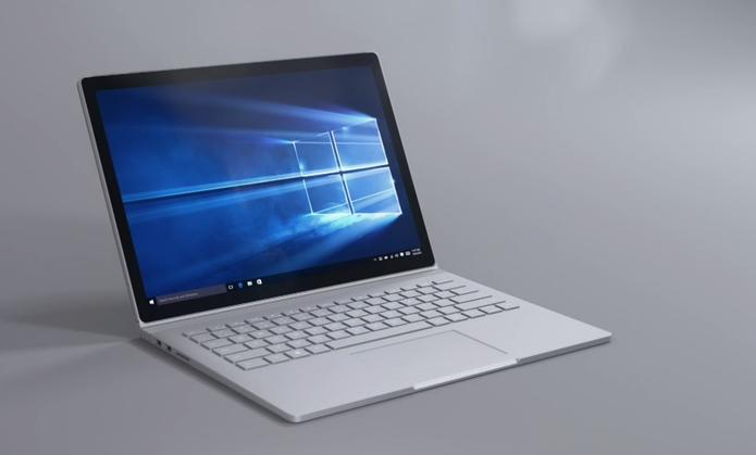 marca de notebook da Microsoft